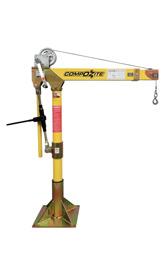 Oz Lifting Products Davit Crane