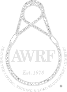 AWRF Est 1976. Serving the lifting, rigging, & Load securement industry